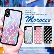 iPhone ケース iPhone XS XSMax XR ケース スマホケース モロッカン エスニック 西海岸 ブランド