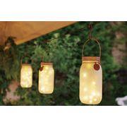 【人気のフェアリーライト】LED ソーラー ガーデンライト S・ L サイズ
