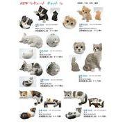 リアルな猫のかわいい置物!キュートキャット