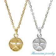 ハワイアンジュエリー ネックレス  星 スター メダル コイン ピンクゴールド イエローゴールド インスタ