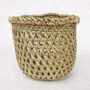 イリンガバスケット透かし編み 丸底 ミニ