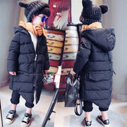 秋冬韓国ファッション ウィンターコート キッズコート  ダウンジャケット 綿服