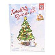 3D Craft model クリスマスシリーズ Christmas Tree(LEDライト付)