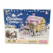 3D Craft model CHRISTMAS SERIES クリスマス・コテージ4