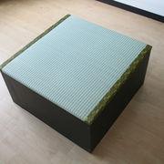 低ホルムアルデヒド・日本製!高床式ユニット畳(半畳タイプ)ダークブラウン FM001DBR