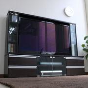 テレビ台 ゲート型 50インチ 大型テレビ対応 ダークブラウン JSTV-5036DBR