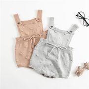 ベビー 赤ちゃん baby ロンパース プリント ニットチュニック 韓国子供服 SALE