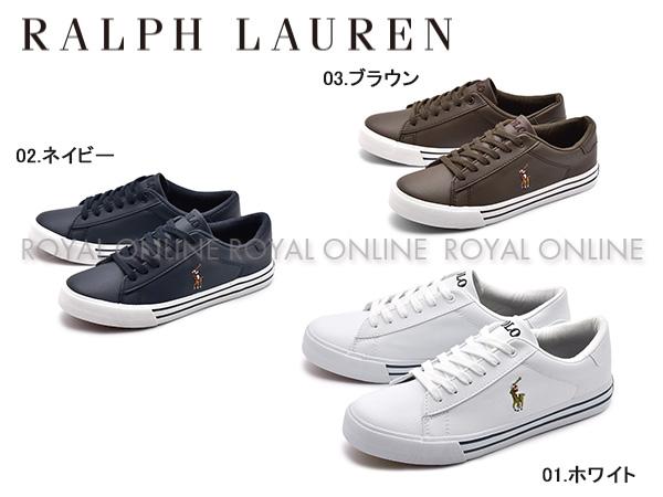 【ポロ ラルフローレン】 RF10112 EASTEN スニーカー 靴 シューズ 全3色 レディース&ジュニア