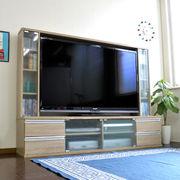 ◎テレビ台 ゲート型 50インチ 大型テレビ対応 オーク JSTV-5036OAK