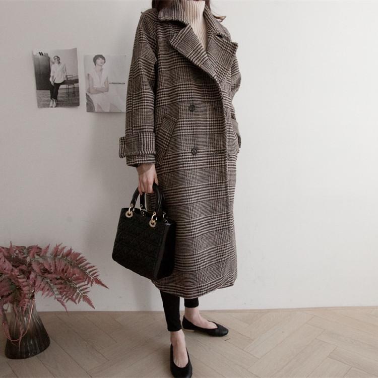 コート ロングコートロング丈 アウター 秋冬 大きいサイズ 美シルエット おしゃれ 防寒 暖か