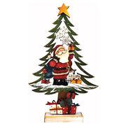 <AMANO>【クリスマス】【木製ツリー】サンタ
