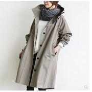 【大きいサイズM-4XL】【秋冬新作】ファッション/人気コート♪ブラック/グレー2色展開◆