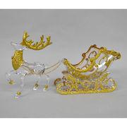 <AMANO>【クリスマス】【オブジェ】アクリルディアスレイ・GOLD