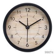 置き時計 ゾーイ ラウンド ブラック