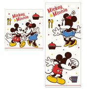 新柄入荷!ディズニー タオル ミッキー&ミニー「ラブヒント」!良質タオル