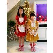 【訳あり】キッズ サンタ コスチューム スカート ドレス 女の子 衣装 クリスマス アウトレット