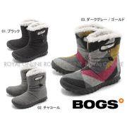 S) 【ボグス】 72106 Bモック ウール B-MOC WOOL ショートブーツ 全3色 レディース