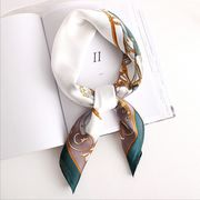 ファッション新作 馬 個性 スカーフ 人造シルク 韓国 エレガント オシャレ