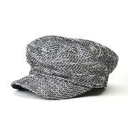 【Winter SALE】ミックス ツイード  キャスケット  帽子 シリアーパ