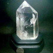 クリスタルクォーツ水晶六角柱/635g