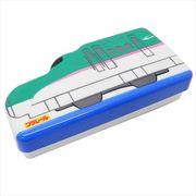 【お弁当箱・シール容器】プラレール ダイカットランチボックス/E5系新幹線はやぶさ 鉄道