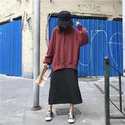 韓国ファッション  CHIC気質  ゆったりする   迷彩柄  セーター