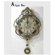 真鍮飾りオーロラ 電波時計