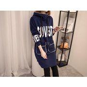 秋冬新商品730312 大きいサイズ 韓国 レディース ファッション ワンピース パーカー3L 4L 5L 6L