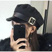 2018秋新作 レディース 帽子 キャップ  ハット 海軍帽 レトロ
