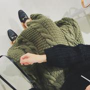 ニット スカート マキシスカート ケーブル編み ロング丈