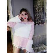 2018新柄追加   韓国ファッション  CHIC気質   ゆったりする   セーター