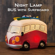 LED電球 NEWナイトランプ バス★BUS with Surfboard