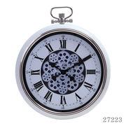 掛け時計 ギア Lサイズ Φ52cm クリーム
