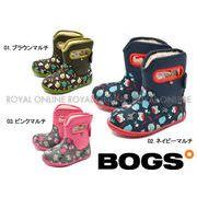 S) 【ボグス】 78464S スノーブーツ ファーム アニマルズ FARM ANIMALS 全3色 キッズ