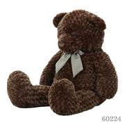 おすわりクマさん ぬいぐるみ ブラウン 100cm
