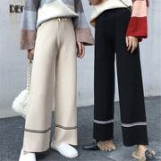 韓国 スタイル 新しい ファッション カジュアル ハイウエスト スパッツ