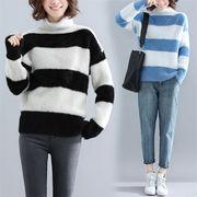 Fashions 限定発売  韓国ファッション  CHIC気質  ゆったりする  セーター