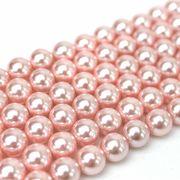 連 シェルパール ピンク 丸 10mm    品番: 9946