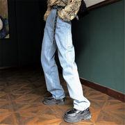 韓国風 ファッション 【秋冬新作】 激安 カジュアル ゆったり デニム パンツ ジーンズ