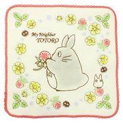 【ハンドタオル】となりのトトロ 刺繍ハンドタオル/赤い野いちご
