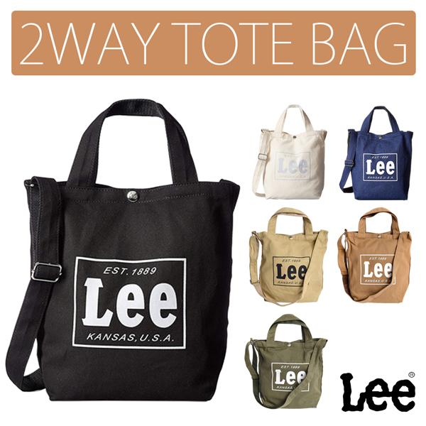 リー Lee 2WAYトート トートバッグ 手提げ鞄 ショルダーバッグ デニム 0425315