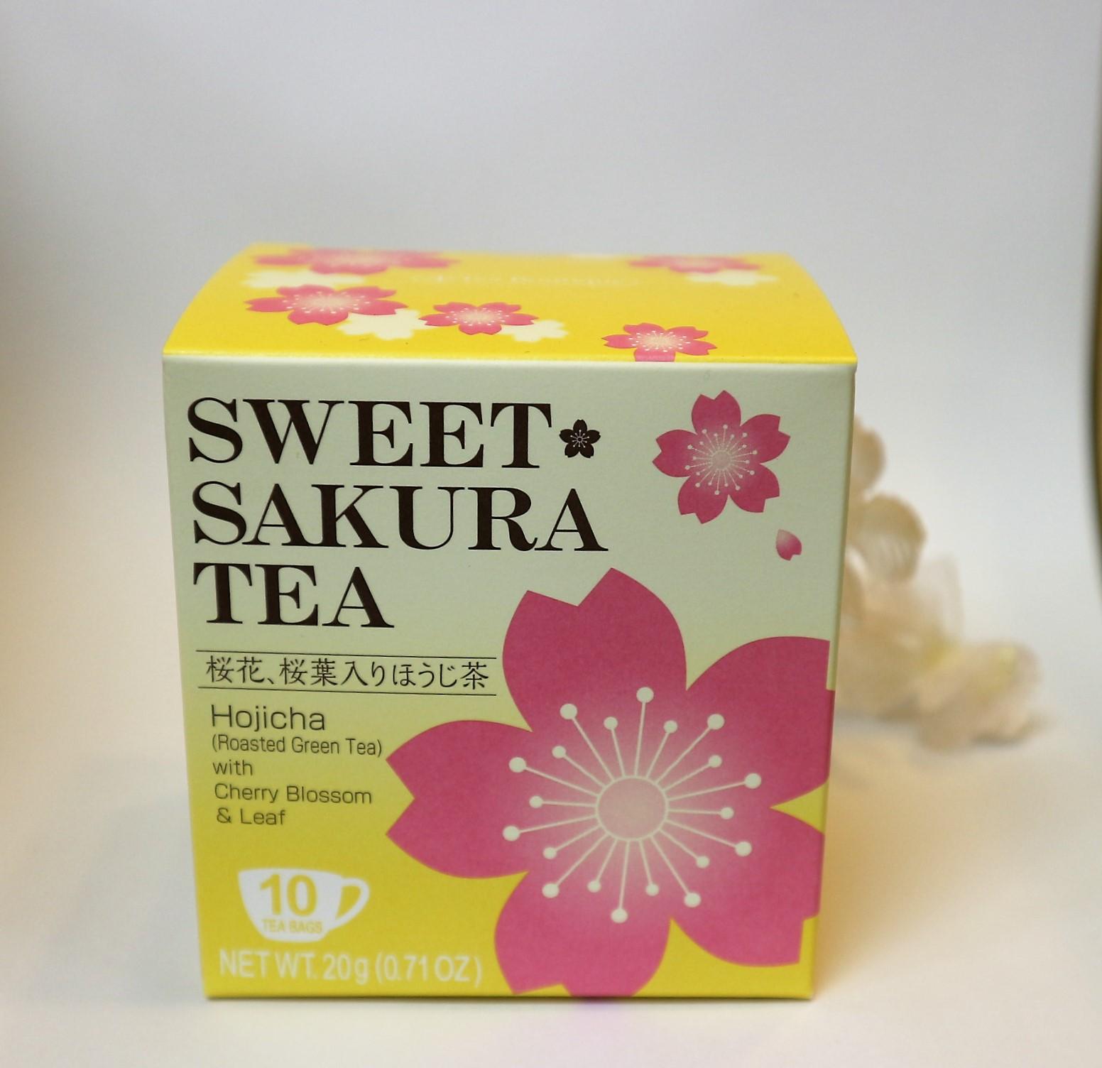 桜咲く・春のひと品♪スイートサクラティー◇ほうじ茶【便利なティーパッグ】