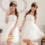 パーティードレス ミディアムドレス 演奏会ドレス 大きいサイズ ワンピース 結婚式 ミディアム丈