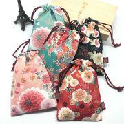 和風 巾着ラッピング ラッピング袋 小物入れ 花柄 和雑貨