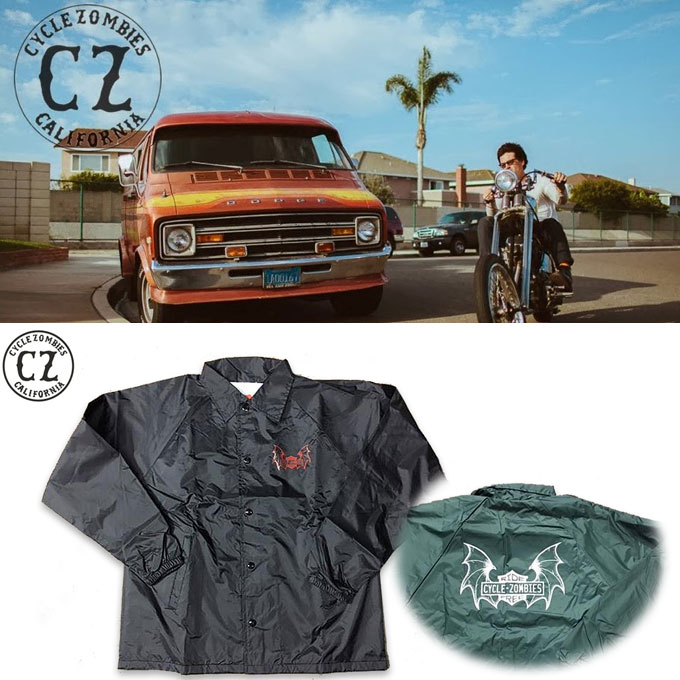 CYCLEZOMBIES RIDE FREE Coaches Jacket  17257