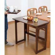 【直送可】【送料無料】木製折りたたみテーブル