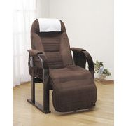 【直送可】【送料無料】天然木低反発高座椅子座ったままリクライニング