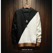 新作 メンズ ニット セーター 秋冬 カジュアル おしゃれ マストアイテム 暖かい かっこいい dmnit002