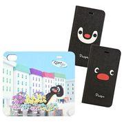 ピングー iPhone 8/7/6s/6対応フリップカバー ピンガフェイス PG-60B