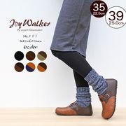 【joy walker】レディースサイズ フットベッド シューズ ※ベルト型 6色